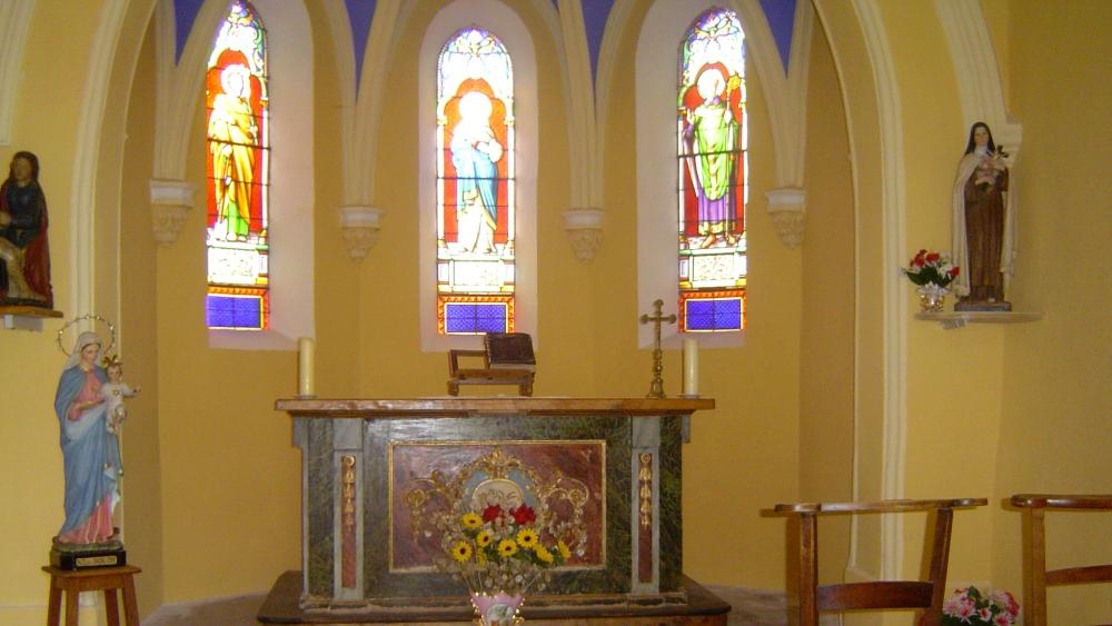 La chapelle de Monthoux