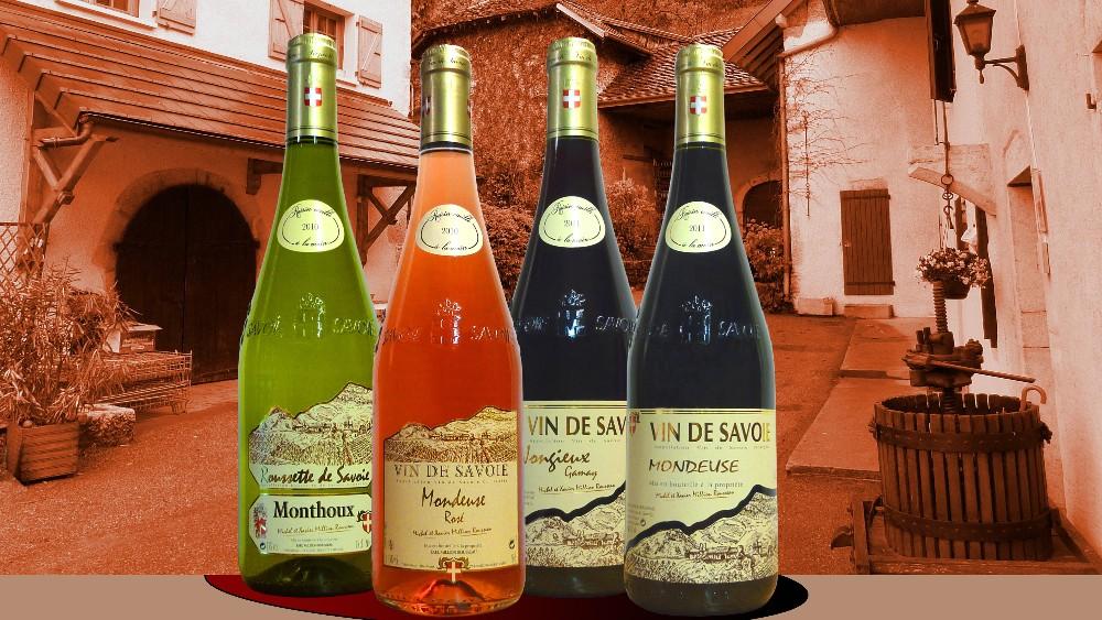 Vins de savoie million rousseau