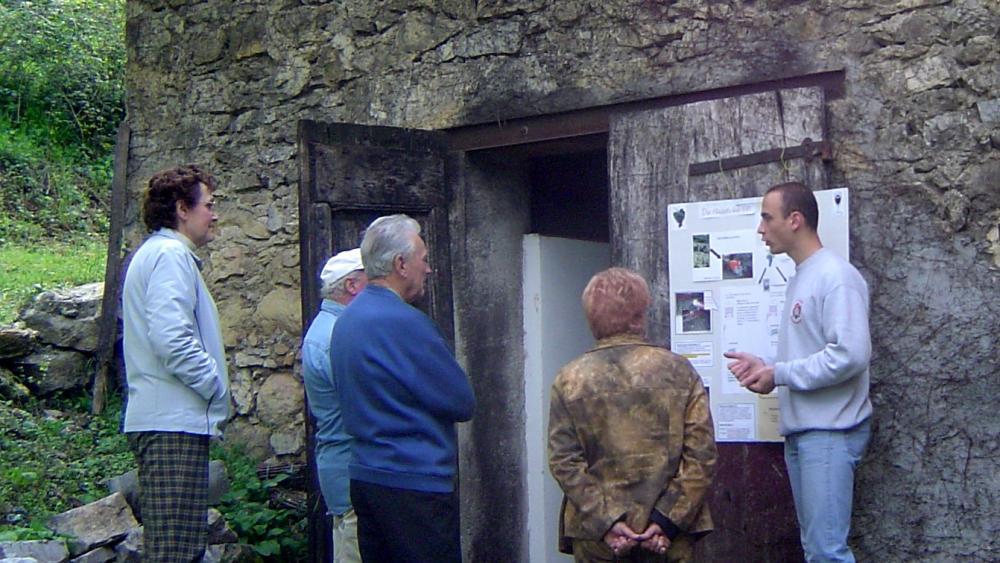 Visite des caves 1