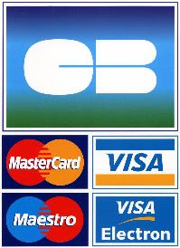 Logo Carte bleue visa et mastercard