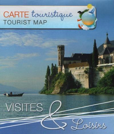 Carte touristique Lac du Bourget d400