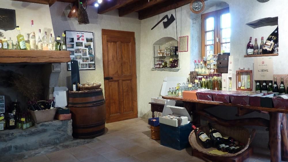 Weinkeller in Savoie