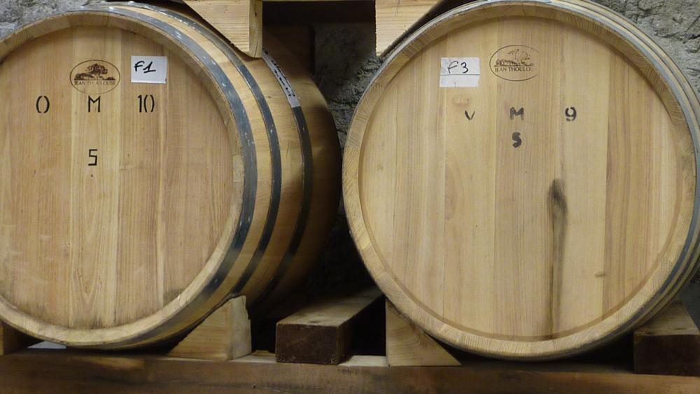 Chardonnay en futs d acacia